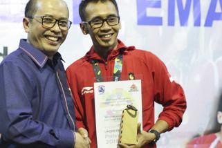 Semen Indonesia apresiasi atlet binaannya peraih emas AG 2018