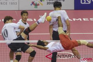 Kalahkan Jepang, Indonesia rebut medali emas sepak takraw