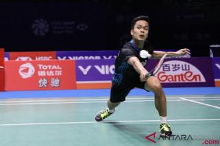 Tiga tunggal putra Indonesia melaju ke perempat final Korea Terbuka