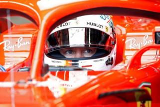 Vettel pimpin dominasi Ferrari dalam latihan terakhir GP Singapura