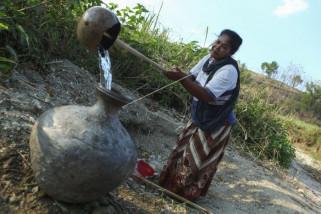 Warga kesulitan air bersih