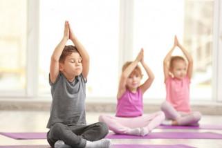 Yoga pada anak untuk melatih motorik dan konsentrasi