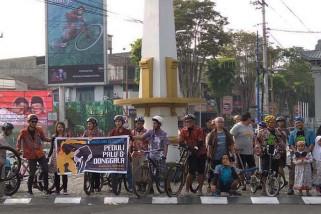 Komunitas pesepeda Kota Magelang galang dana untuk Sulteng