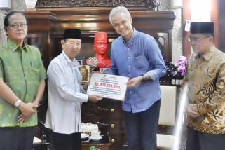 Baznas Jateng serahkan Rp416 juta untuk korban gempa Sulteng