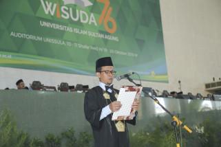 Rektor Unissula minta lulusannya ciptakan peluang kerja