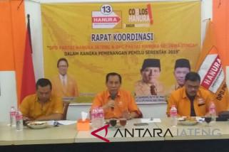Bambang Raya: Caleg Hanura wajib temui rakyat pada Sabtu dan Minggu