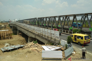 Jembatan Tanggulangin Demak-Kudus batal ditutup (VIDEO)
