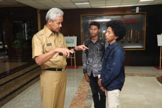Ganjar ajak mahasiswa Sulteng pulang kampung jadi sukarelawan