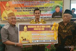 Bangsawan Malaysia genapi bantuan untuk Masjid- Makam Sunan Kalijaga
