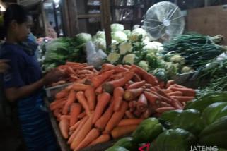 Harga sayuran di Solo naik akibat kekeringan di sejumlah daerah