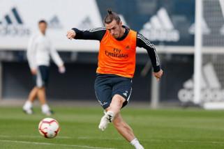 Pulih dari cedera, Bale kembali berlatih bersama Madrid