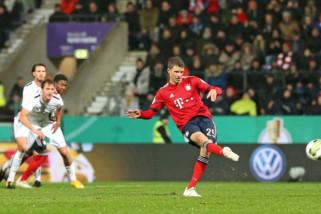Bayern Muenchen susah payah kalahkan klub divisi empat