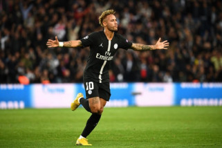 Neymar hattrick, PSG libas Red Star hingga babak belur