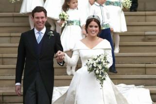 Putri Eugenie dan Jack Brooksbank gunakan mobil James Bond