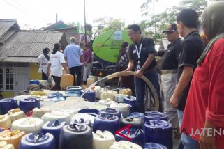 BPBD Temanggung distribusikan air bersih di 30 desa
