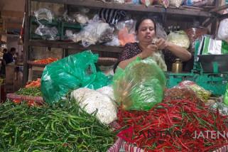 Pasokan lancar, harga cabai di Temanggung turun