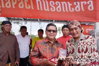 Hasto ajak seluruh bangsa Indonesia bangga pada kebudayaan asli Nusantara