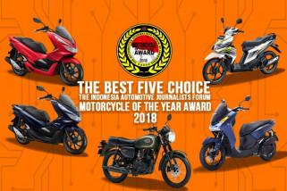 Lima sepeda motor terbaik pilihan wartawan, apa saja?