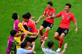 Korsel kalahkan Uruguay 2-1 dalam laga uji coba