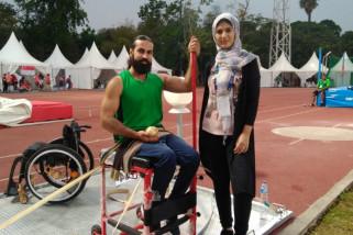 Demi Palestina, Mahmoud nekat seorang diri ikuti Asian Para Games
