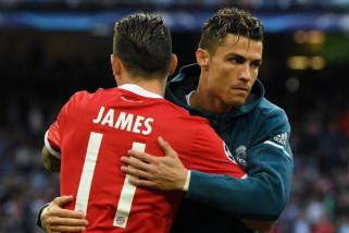 Juventus dirumorkan ingin duetkan lagi Rodriguez dan Ronaldo