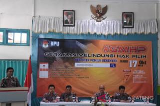 KPU Batang kampanyekan Gerakan Melindungi Hak Pemilih