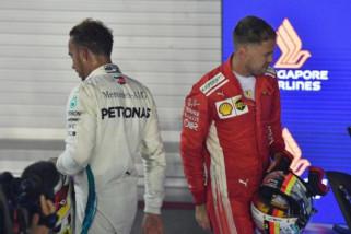 Vettel berharap persaingan dengan Hamilton berlanjut