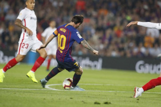Libas Sevilla 4-2, Barcelona di puncak klasemen