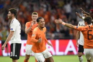 Klasemen Nations League, Jerman terpuruk di dasar klasemen