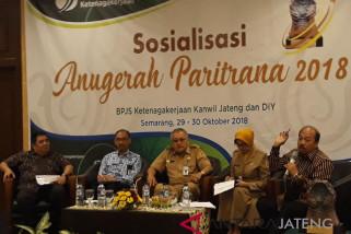 BPJS Ketenagakerjaan bersama Pemprov Jateng pastikan masyarakat terlindungi