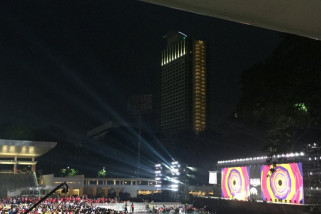 Doa untuk Sulawesi Tengah di upacara penutupan Asian Para Games 2018
