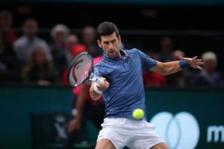 Singkirkan petenis Portugal, Djokovic lolos ke putaran ketiga Paris Masters