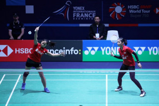 Rizki/Ketut singkirkan pasangan Thailand pada laga Prancis Terbuka