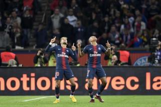 Hasil pertandingan dan klasemen Liga Prancis, PSG semakin kokoh di puncak