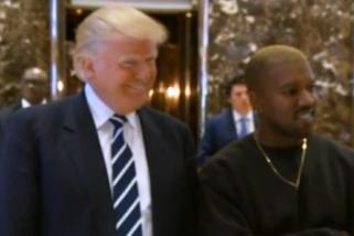 Presiden Donald Trump puji penampilan Kanye West di SNL