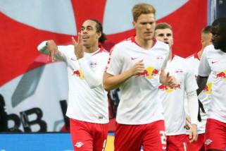 Hasil laga dan klasemen Liga Jerman, Leipzig naik ke posisi kedua