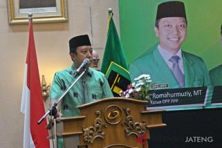 Romi: Caleg PPP harus rangkap jadi jurkam Jokowi-Ma'ruf