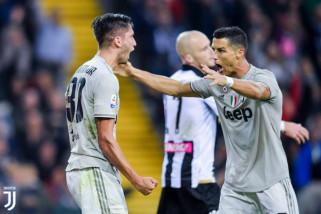 Juventus lanjutkan start sempurnanya di markas Udinese