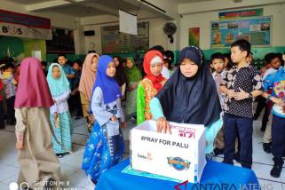 Siswa SD Muhammadiyah galang dana untuk korban Palu