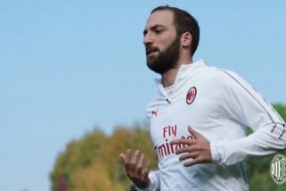Higuain klaim dirinya didepak Juventus