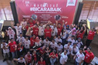 Semen Indonesia ajak warganet Makassar #BicaraBaik di medsos