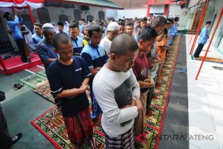 Warga Rutan Boyolali doa bersama untuk korban gempa