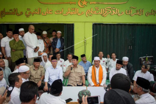 Kunjungan Prabowo Subianto di Ponpes Ta'mirul Islam