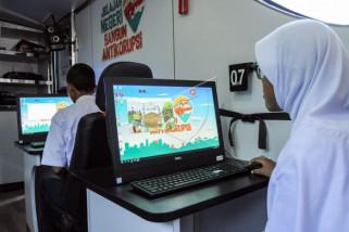 Bus KPK keliling Kota Semarang kampanye antikorupsi