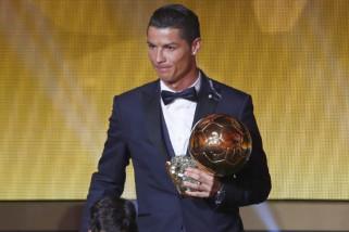 Ronaldo masuk nominasi trofi Ballon d`Or