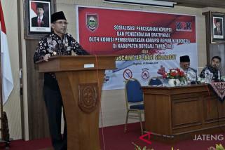 Cegah korupsi, KPK sosialisasi gratifikasi ke ASN Boyolali