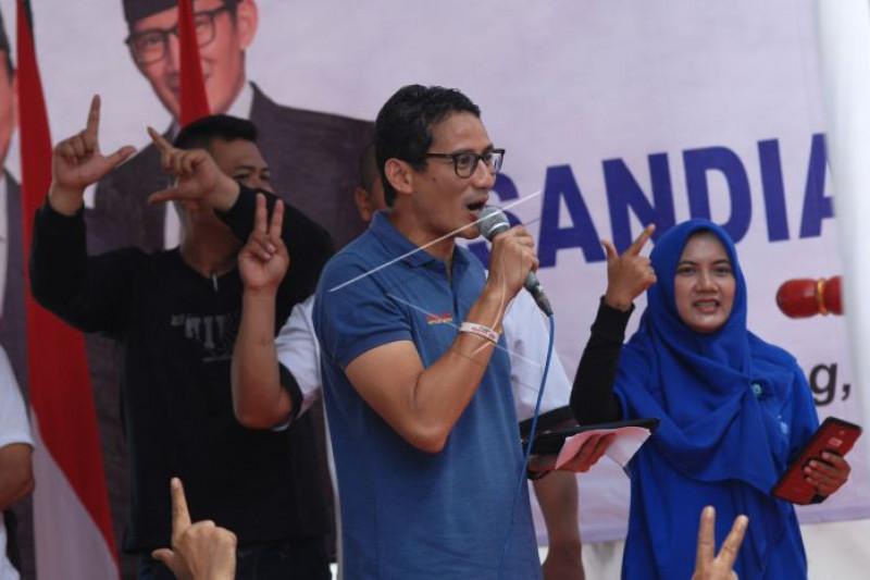 Kampanye Sandiaga Uno