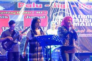 Komunitas Musik Magelang gelar aksi peduli bencana