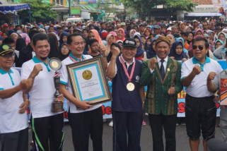 Jalan Sehat Beramal Muhammadiyah Jateng kumpulkan donasi Rp2 miliar