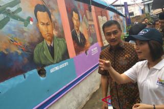 Akzonobel ubah Kampung Pancuran jadi destinasi wisata berwarna-warni